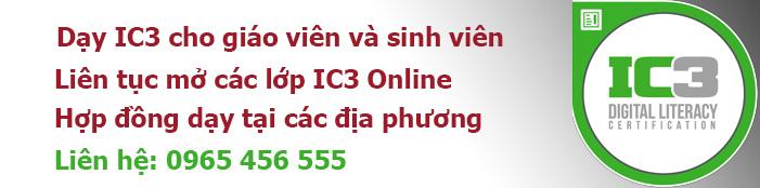 Quảng cáo IC3